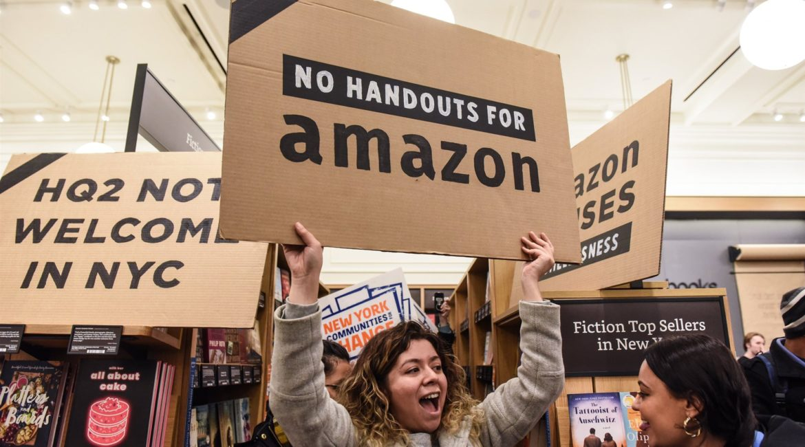 Smart businesses are kind to activist! A lesson to learn from Amazon vs Activist in NY